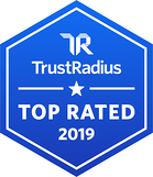 2019 TrustRadius Top Rated Badge