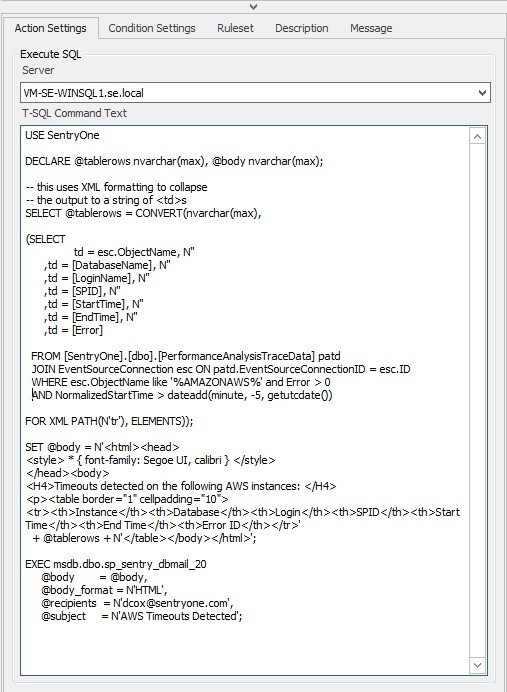 Building a Custom Alert and Email in SQL Sentry_Figure5