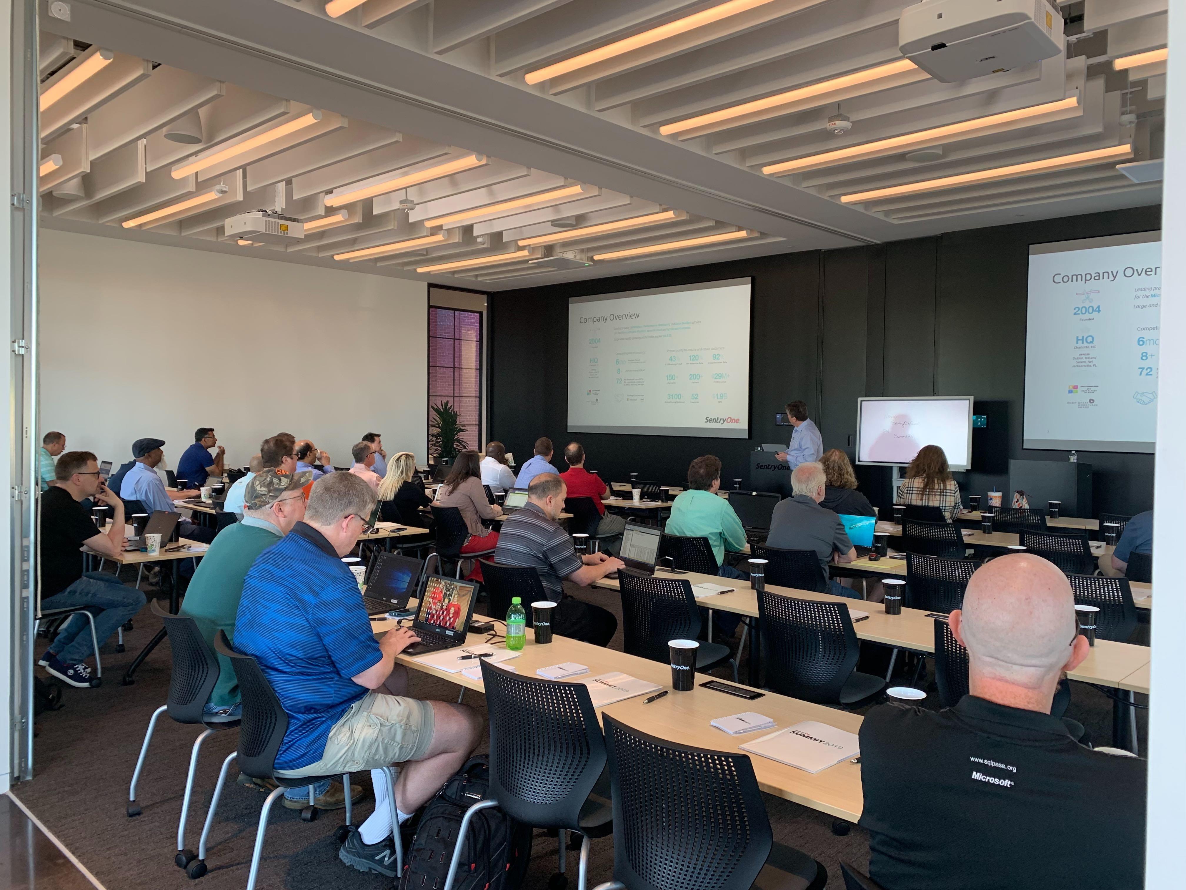 SentryOne Summit Attendees 2019