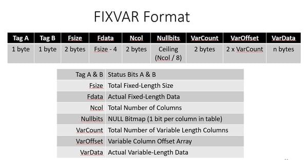 FixVarFormat