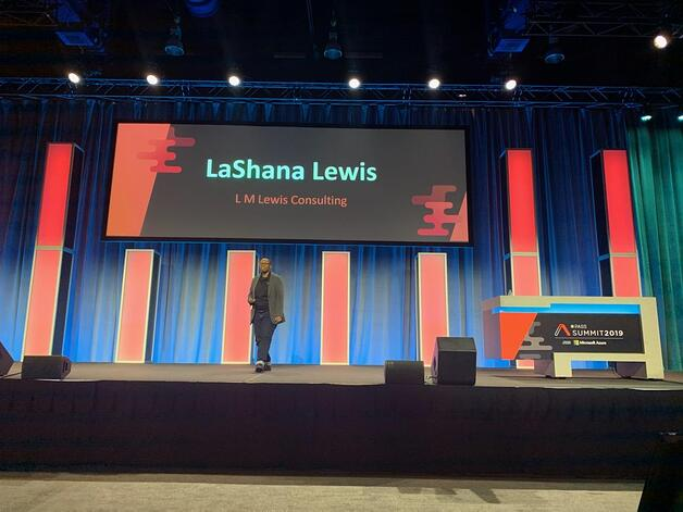 LaShana Lews, WIT Luncheon Keynote
