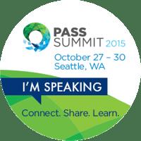 2015 PASS Summit