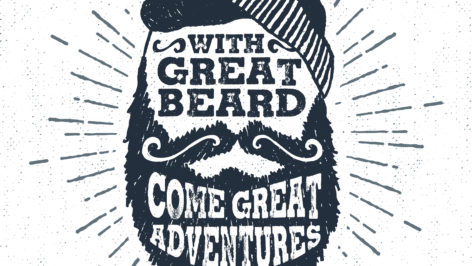 Great beards, presenting all day.