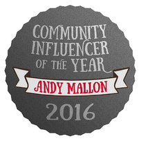 Community Influencer of the Year 2016
