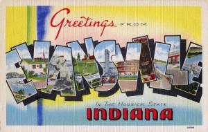 KevinEKline.com SQLVacation Evansville postcard