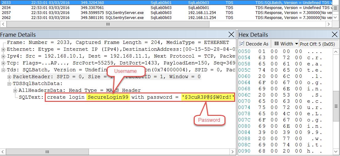 Create Login TDS Packet