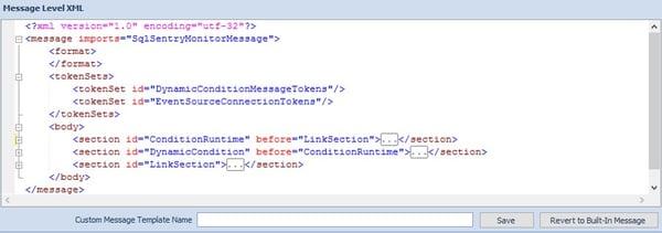 Message Level XML