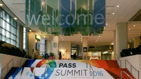 Welcome to the PASS Summit 2016!