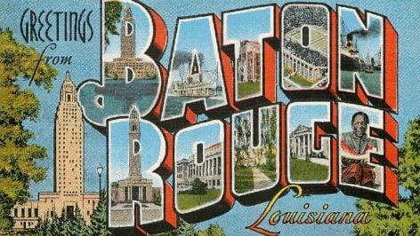 Postcard Baton Rouge