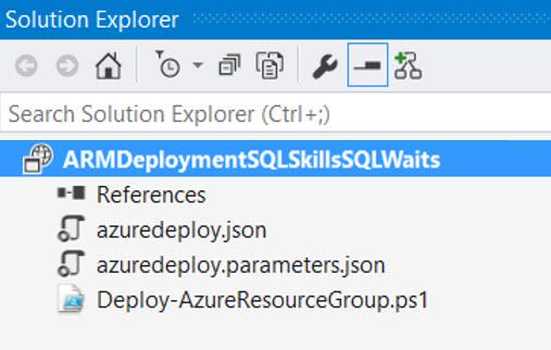 Visual Studio Initial 3 ARM Files