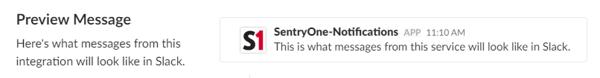 SentryOne Slack WebHook notification example