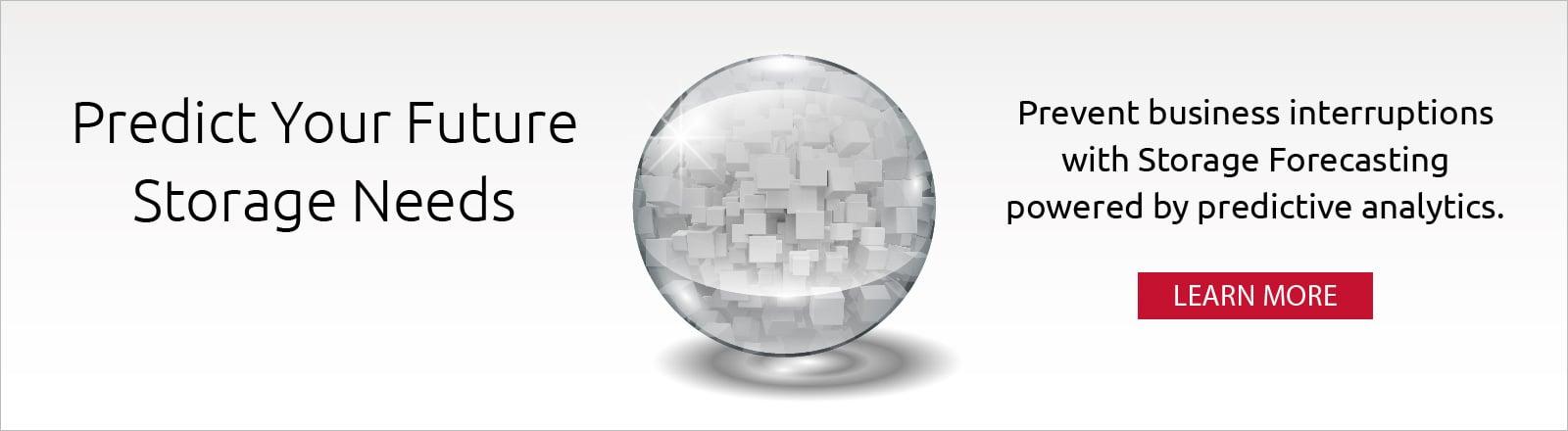 SentryOne Storage Forecasting