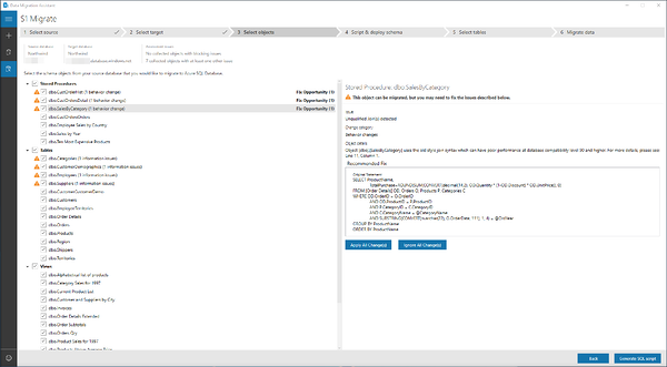 Migrate database to Azure SQL Database with Database Migration Assistant