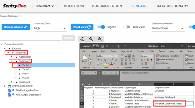 Manually Add a Metadata Source in SentryOne Document_Image 3