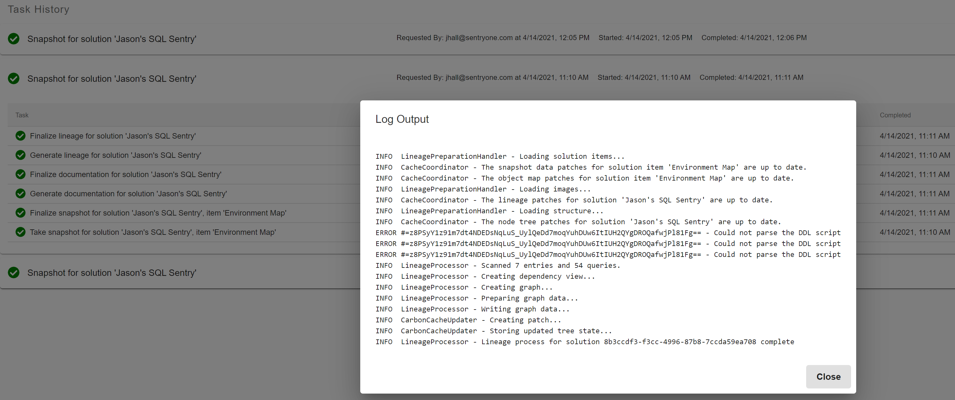 SQL Sentry Database Mapper Environment Map_Image 10