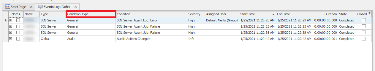 SQL Sentry Events Log Updates Provide a Centralized View of Events_Image 5