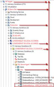 SQL Sentry Tips and Tricks - Adjusting Navigator Pane Highlighting_Image2