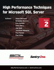High Performance Techniques for Microsoft SQL Server Thumbnail Book 2