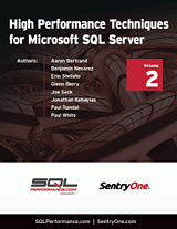 High Performance Techniques for Microsoft SQL Server Volume 2