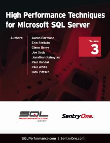 High Performance Techniques for Microsoft SQL Server Thumbnail Book 3
