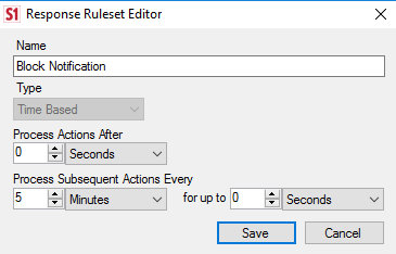 Time Based Ruleset