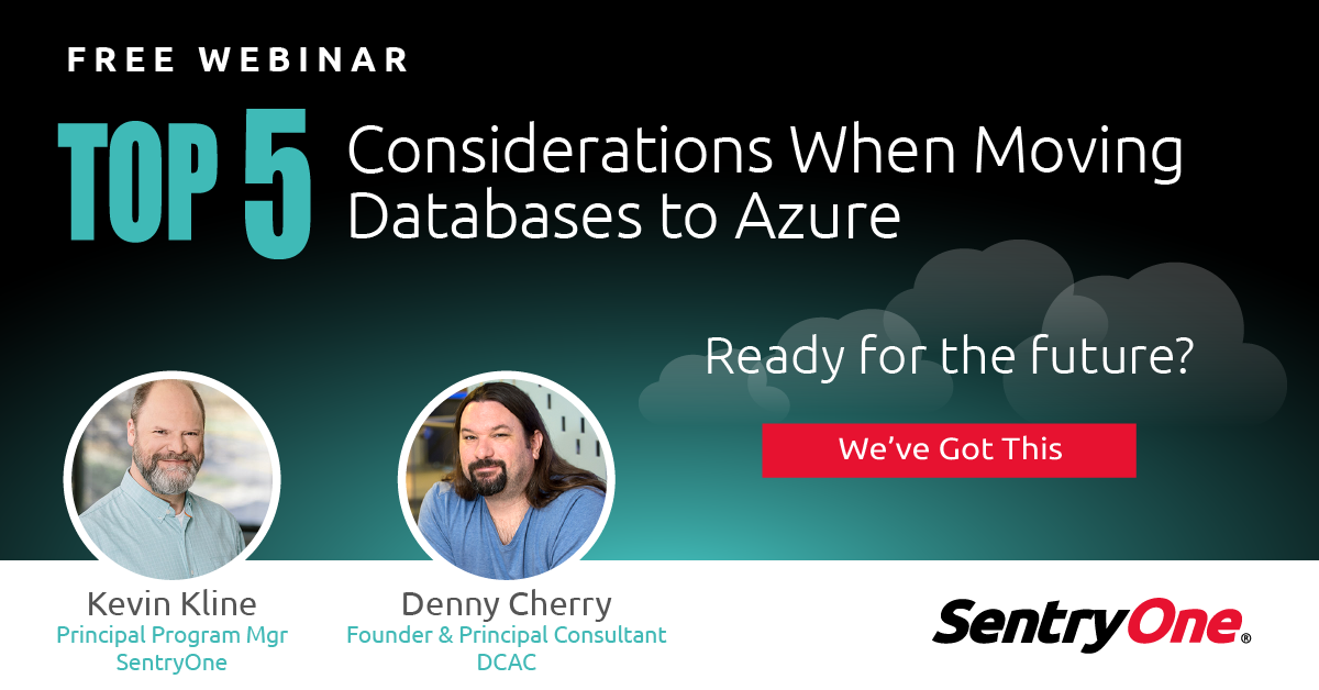 Top 5 Cloud Considerations When Moving Databases to Azure