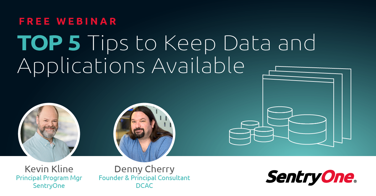 Top 5 Tips To Keep Data And Applications Available