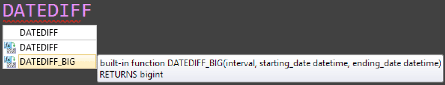 IntelliSense can be revealing