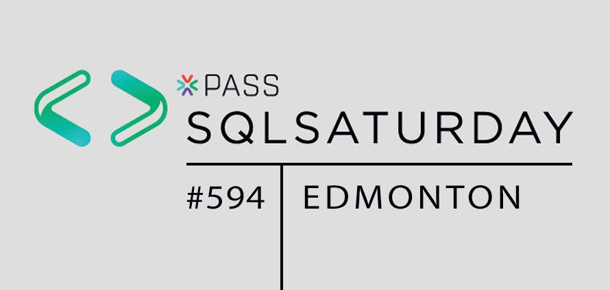 SQL Saturday Edmonton