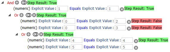 Multiple Condition Groups