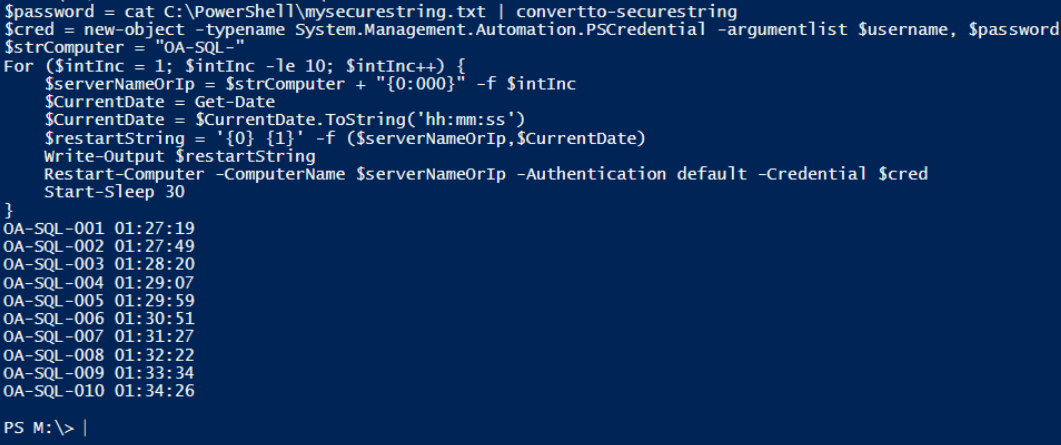 My First PowerShell : A Simple Story with Dramatic Flair