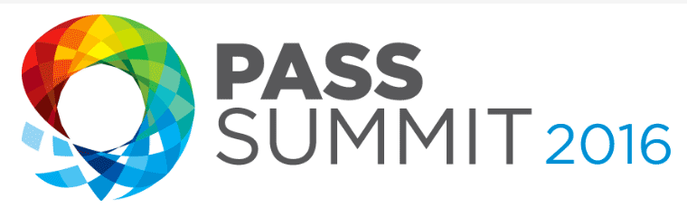 The PASS Community Summit 2016