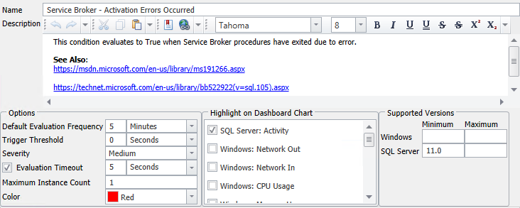 Service Broker - Activation Errors Occurred