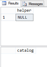 Results of queries in nested procedure