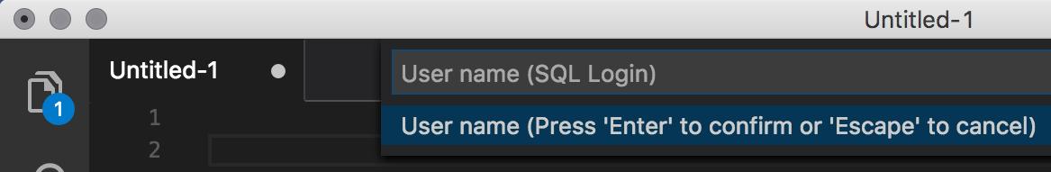 Enter User Name