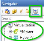 VMWare in the Navigator