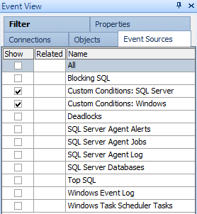 Enable Custom Conditions on the calendar using Global / Event View / Event Sources