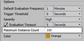 Maximum Instance Count setting