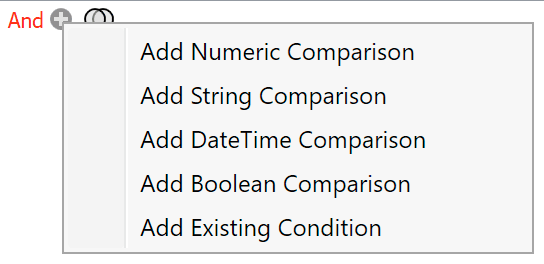 Comparison Type
