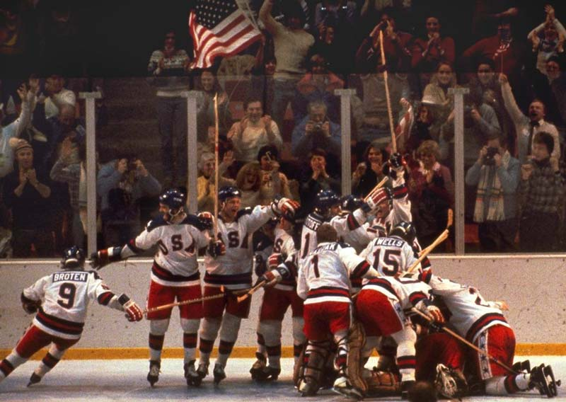 1980 USA Olympic Team : This group won as a team