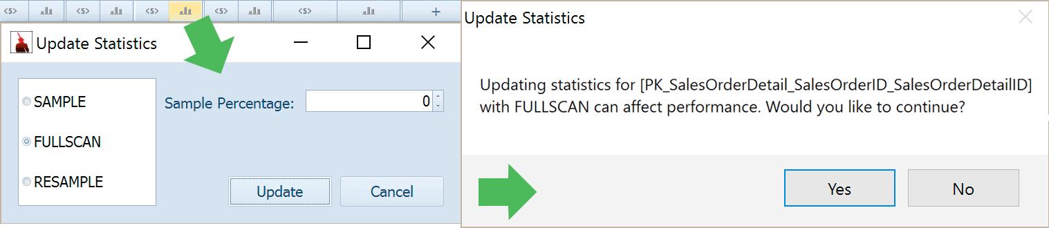 Update Statistics