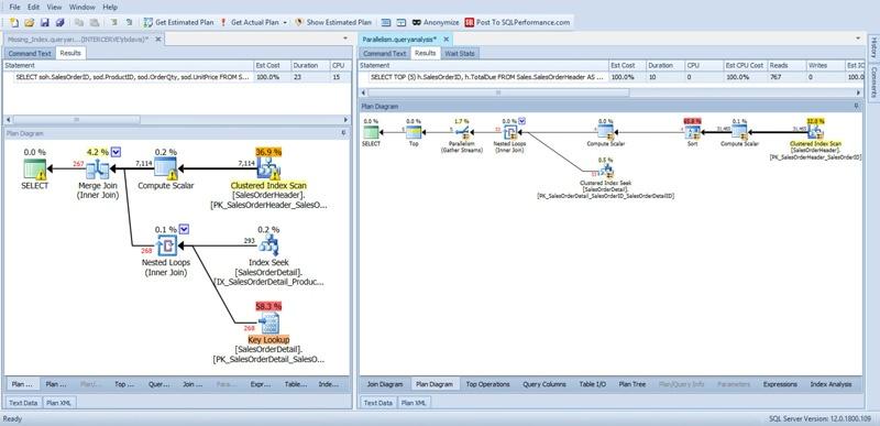 SentryOne Plan Explorer Multiple Documents