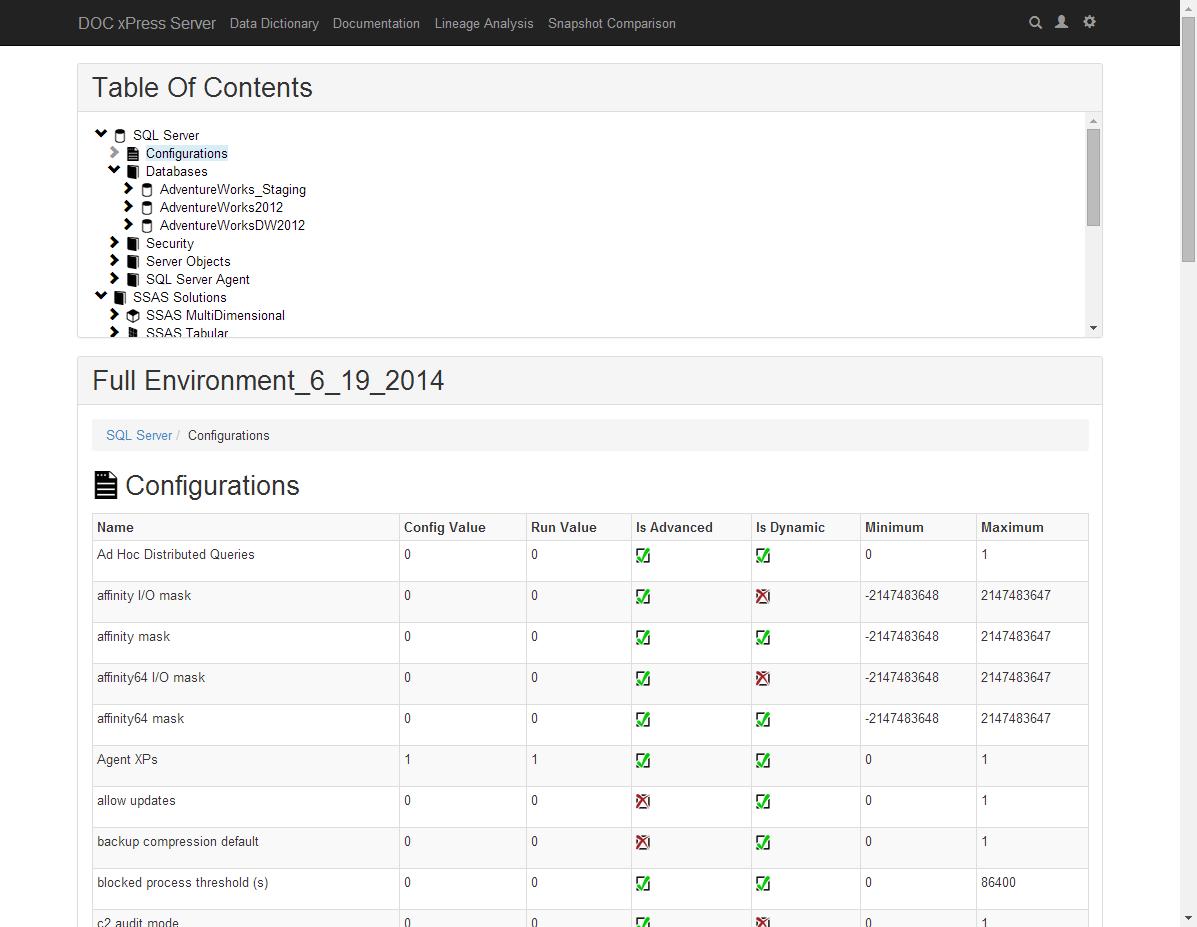 DOC xPress Web View Documentation