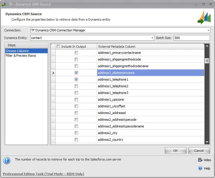 Task Factory Dynamics CRM Components